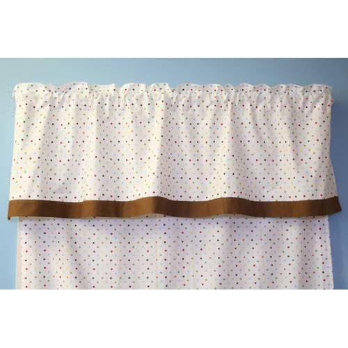 Bacati Baby and Me 58'' Curtain Valance by Bacati