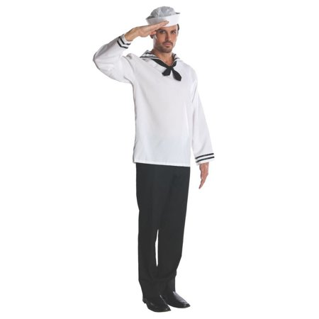 Halloween Adult Sailor Costume - Walmart Sailor Costume