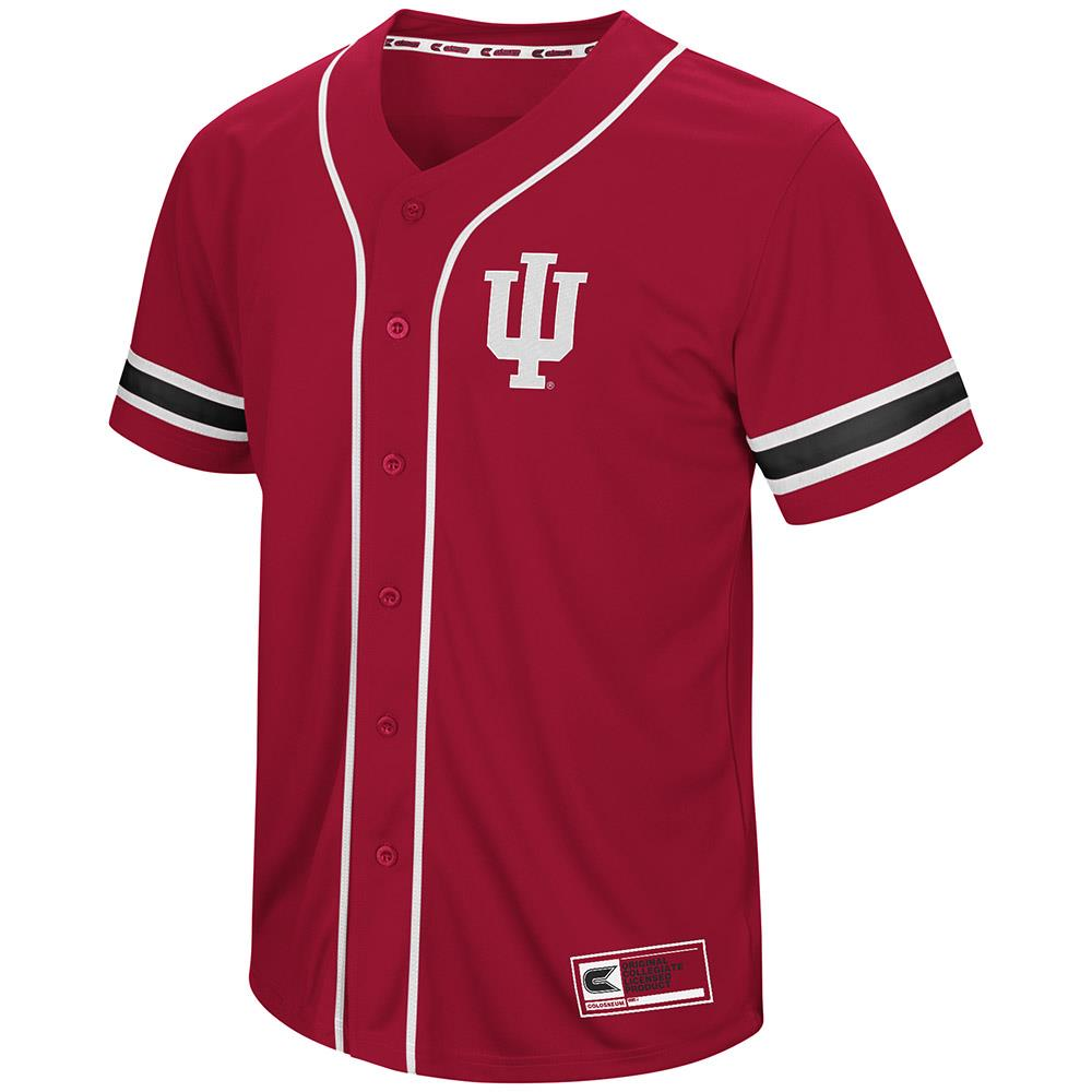 Mens Indiana Hoosiers Baseball Jersey - S
