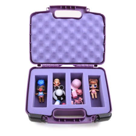 Purple Toy Box Storage Case Fits LOL Surprise Dolls in Custom Foam- INCLUDES CASE ONLY](Custom Stores)