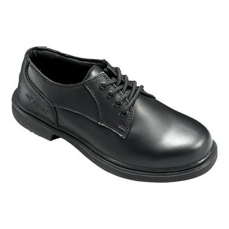 Men's Genuine Grip Footwear Slip-Resistant Oxford Work ()
