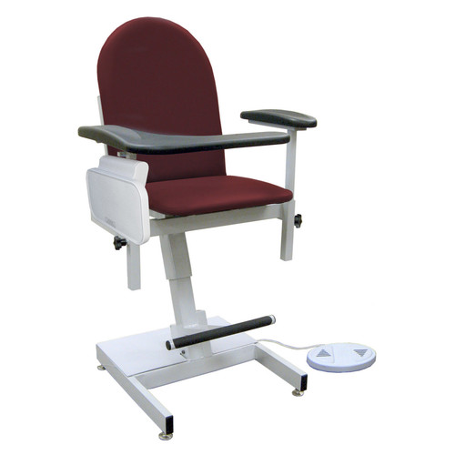 Winco Manufacturing Power Designer Blood Drawing Chair