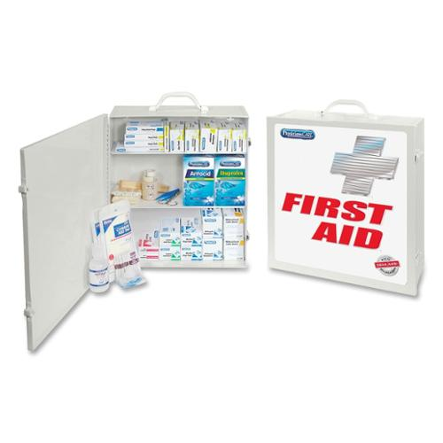 "Physicianscare First Aid Kit - 694 X Piece[s] For 100 X Individual[s] - 18"" X 12"" X 5"" - Metal Case (50000_40)"