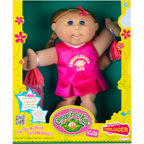 Cabbage Patch Kids Cheerleader Girl Doll, Caucasian with Blond Hair