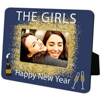 Custom Kids Personalized Happy New Year Hardboard Frame
