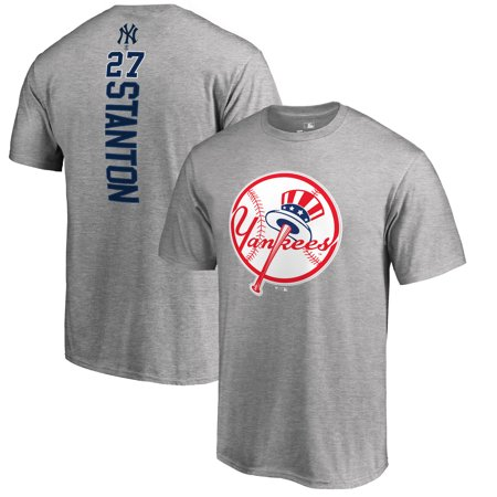 Giancarlo Stanton New York Yankees Fanatics Branded Backer Name & Number T-Shirt - (Men Name Brands)