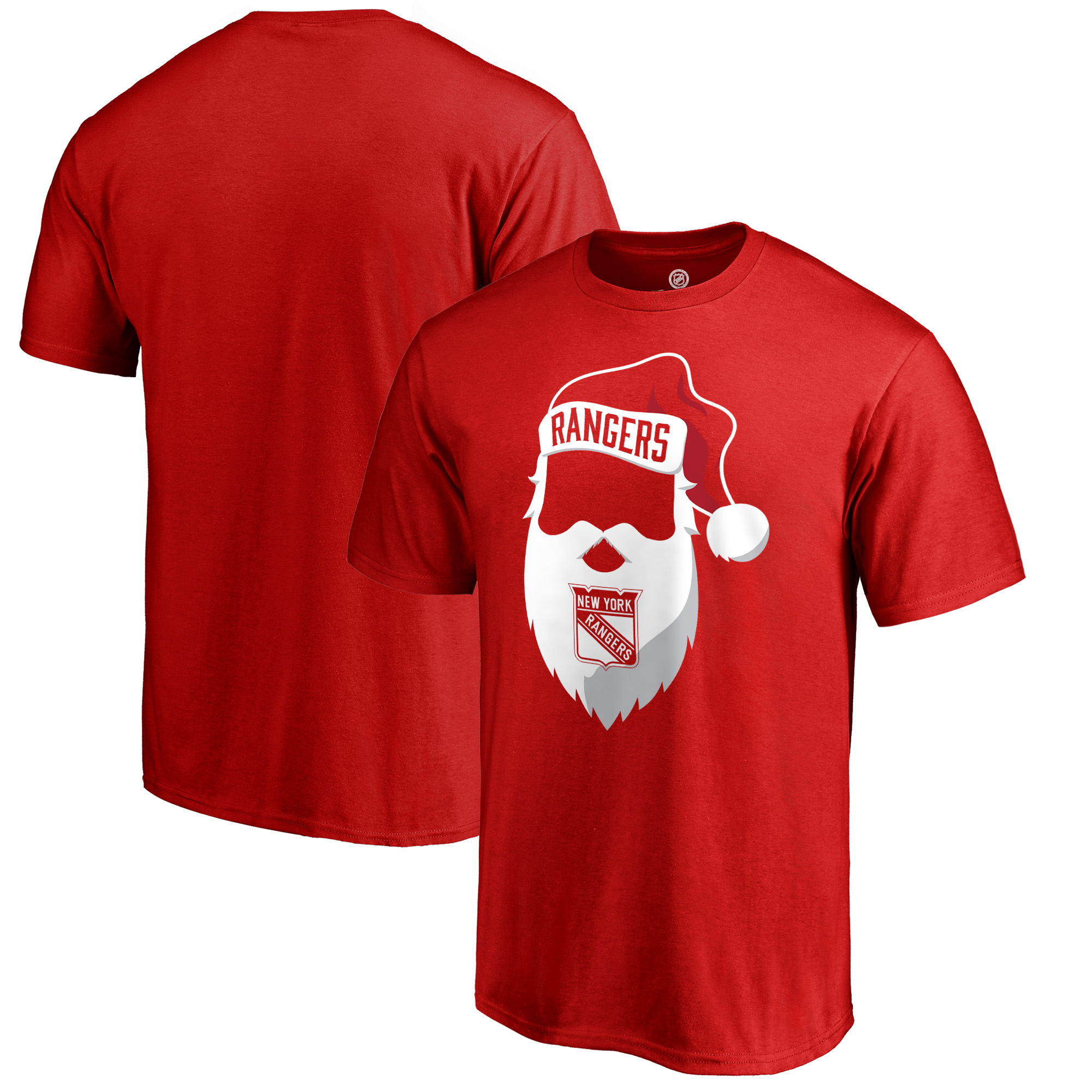 New York Rangers Fanatics Branded Jolly T-Shirt - Red