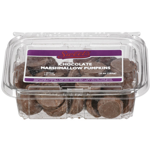 Sweet's Chocolate Marshmallow Pumpkins Candy, 10 oz