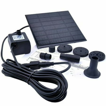 180L/H Solar Water Pump for Garden Pool Pond Fountain Aquarium - image 5 of 9