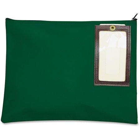MMF, MMF2341814N02, Cloth Transit Mail Bag, 1 Each, Hunter Green