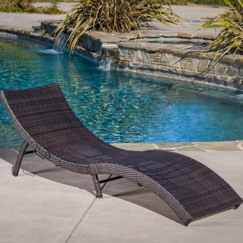 Riviera Folding Chaise Lounge by NFusion
