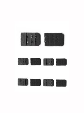 790065cff9 Product Image Unique-Bargains Women s 3 Rows 2 Hooks Underwear Replacement Bra  Extender Strap Adapter 10 Pcs