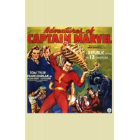 "Adventures of Captain Marvel - movie POSTER (Style C) (11"" x 17"") (1941)"
