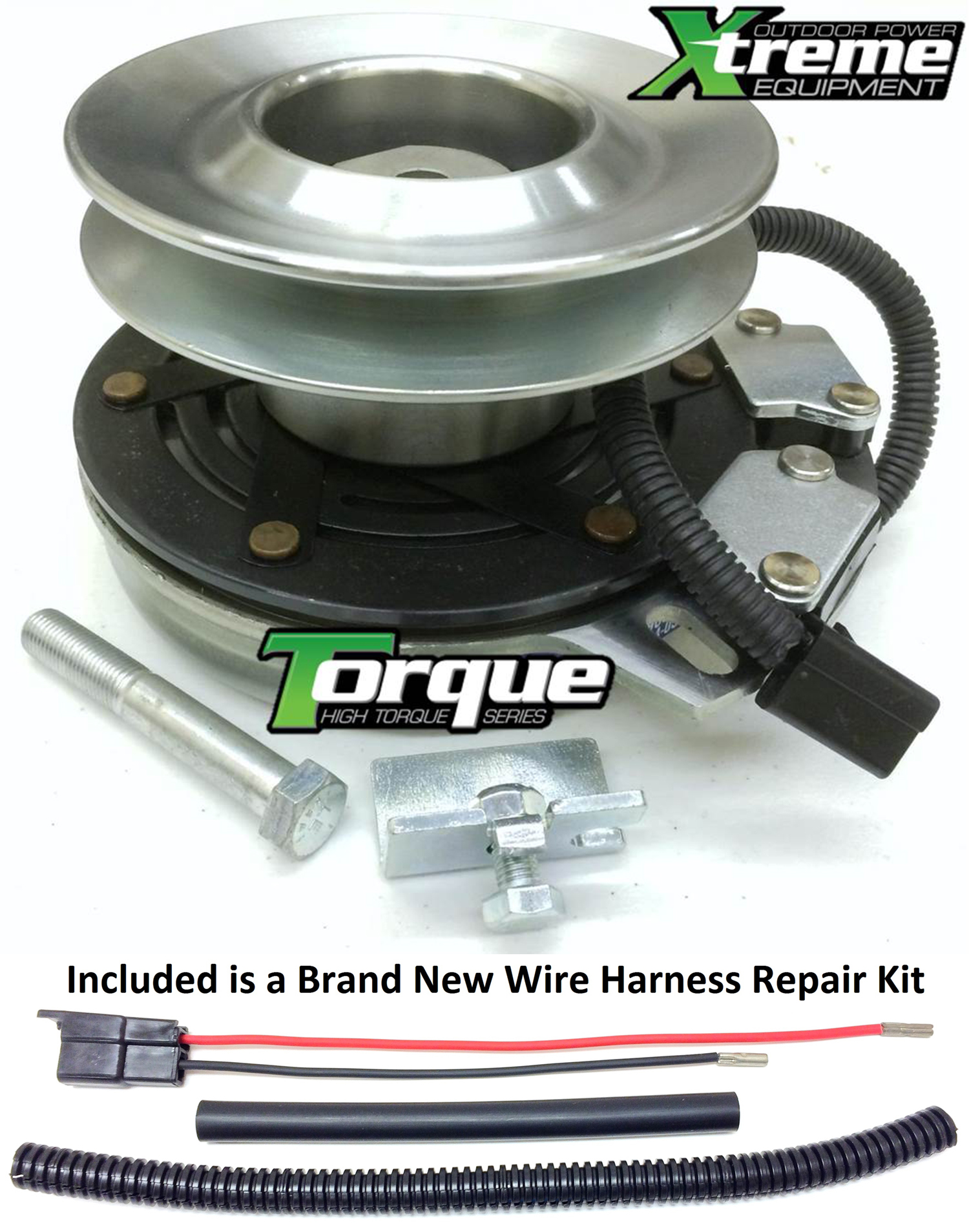 Bundle 2 Items Pto Electric Blade Clutch Wire Harness Repair Kit Vehicle Wiring Xtreme Replacement For Ogura Gt1a Mt09 Troy Bilt 917 04183 W