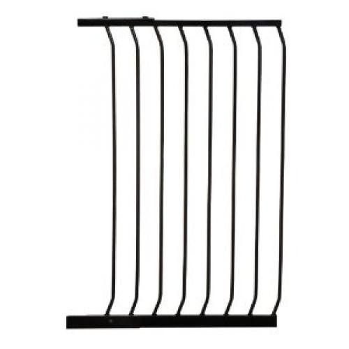 DreamBaby F844B 24.5in GATE EXTENSION 39.4in TALL Black