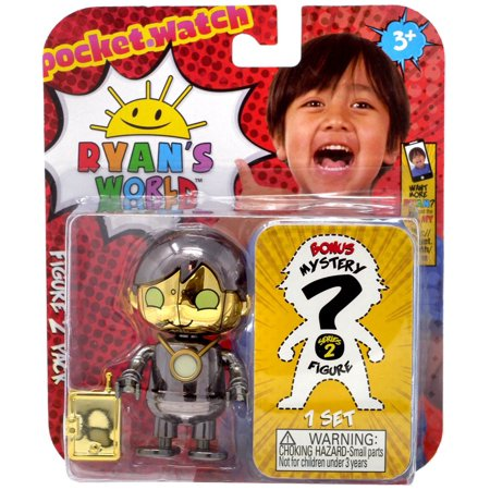 Ryan's World Darkstar Robo Ryan & Mystery Action Figure 2-Pack