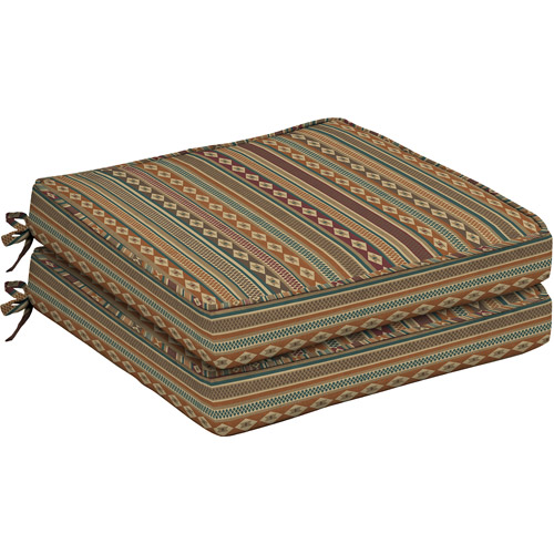 Better Homes and Gardens Outdoor Dining Seat Cushion with Welt, Set of 2