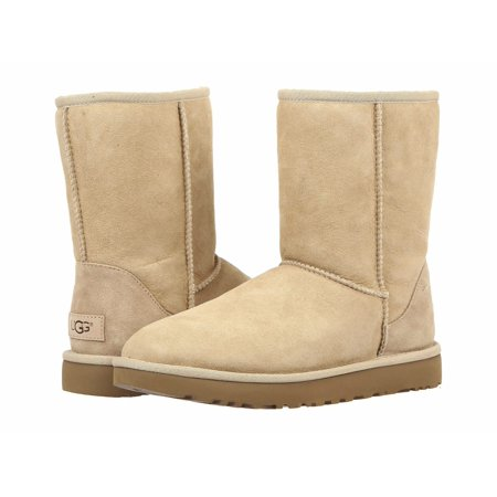 UGG Women's Classic Short II Boots 1016223 - Light Blue Uggs With Bows
