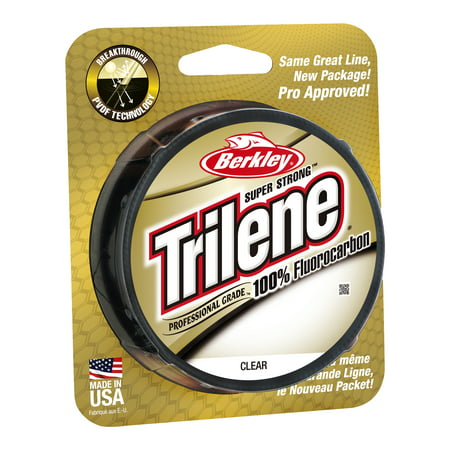 Berkley Trilene 100% Fluorocarbon Professional Grade Line Spool