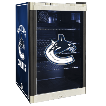 NHL Refrigerated Beverage Center 4.6 cu ft Vancouver Canucks by