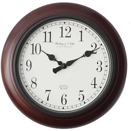 Better Homes Amp Gardens 11 5 Quot Round Wall Clock Espresso