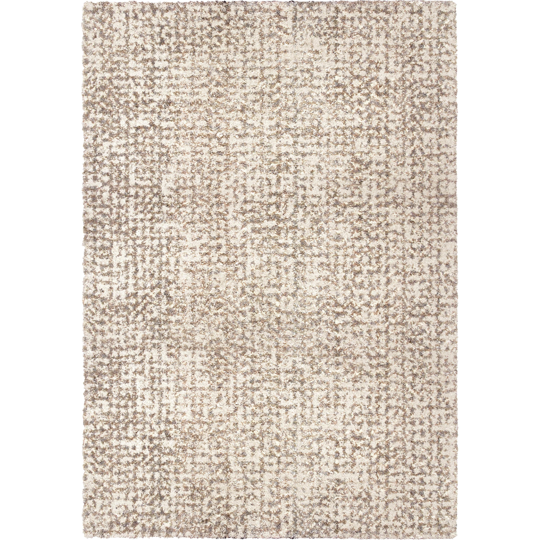"""Orian Cotton Tail Ditto White 5'3""""X7'6"""" Area Rugs JA03"""