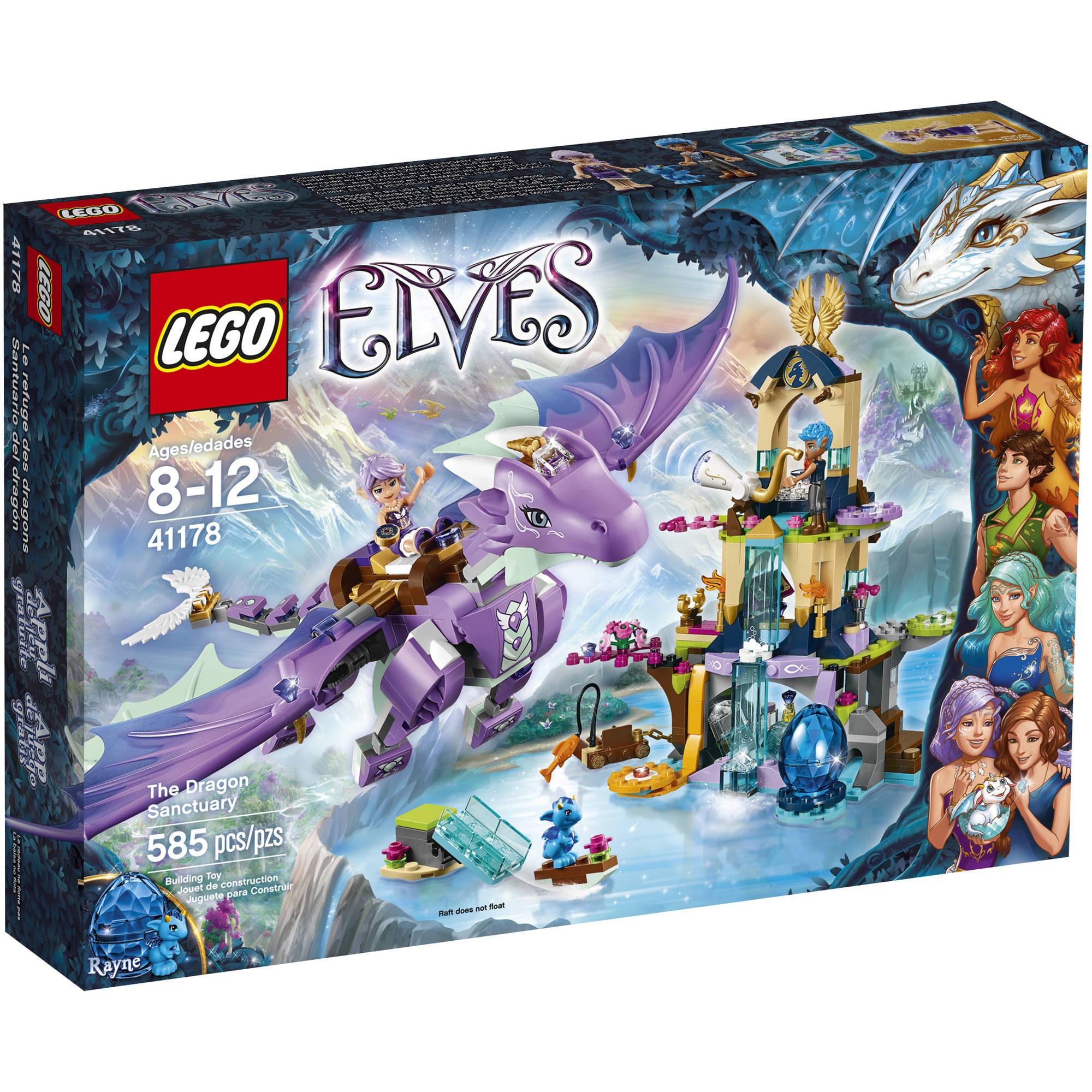 LEGO Elves The Dragon Sanctuary 41178 - Walmart.com