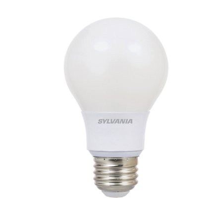 Sylvania Ultra A19 40W 120V E26 Base Dimmable Daylight LED Light Bulb (12 Pack)