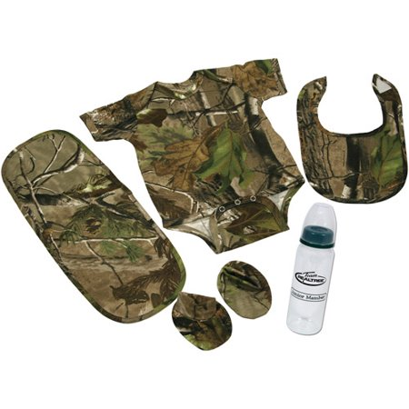 River's Edge Products 5-Piece Baby Outfit, Realtree