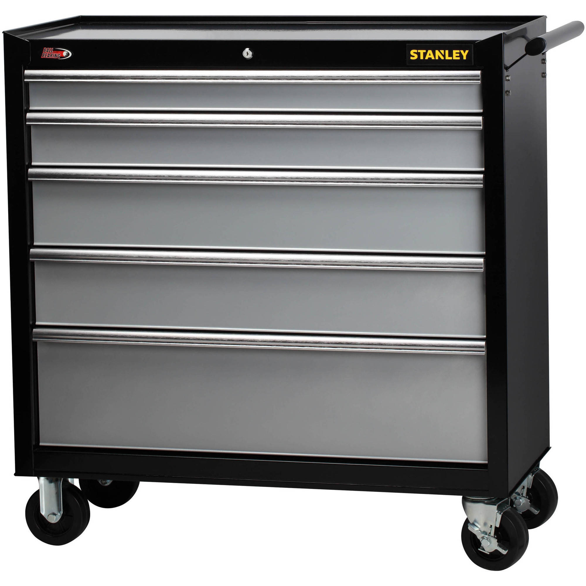 "Stanley 40"" 5-Drawer Rolling Tool Cabinet"