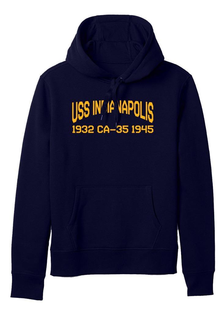 USS Indianapolis CA 35 Personalized Canvas Ship Photo Print Navy Veteran Gift