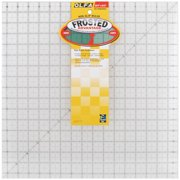 """OLFA Frosted Advantage Non-Slip Ruler """"The Workhorse""""-16-1/2""""X16-1/2"""""""
