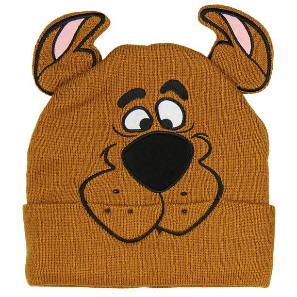 Bioworld Scooby Doo Costume Hat Beanie Embroidered Scooby Original Cartoon Network Face Walmart Com Walmart Com