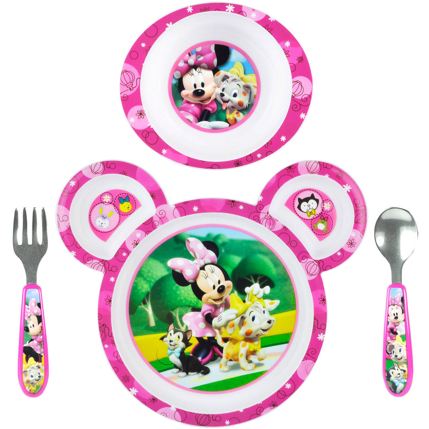 the years disney baby minnie mouse 4 feeding set