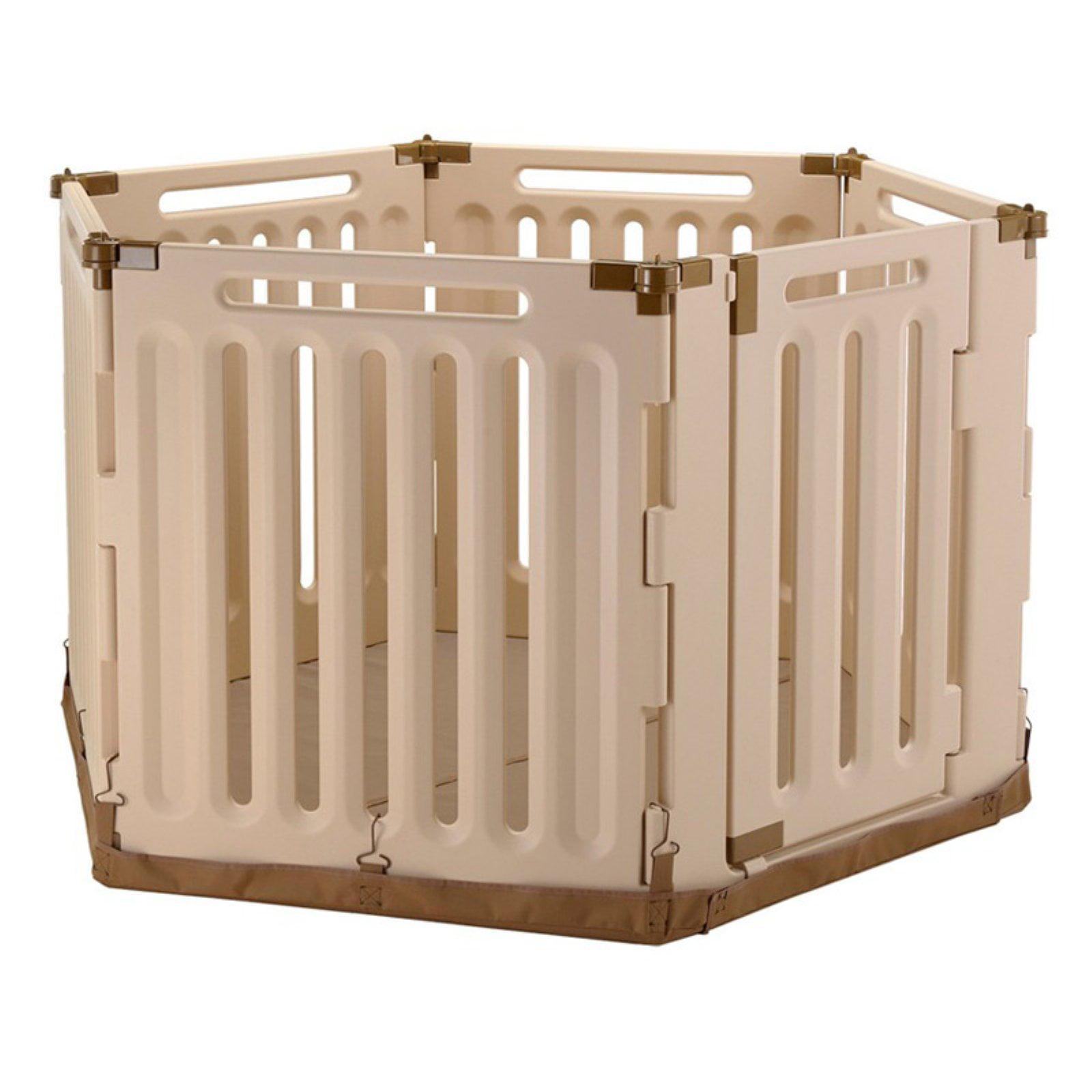 Richell Convertible Indoor/Outdoor Pet Playpen Comfort Mat II