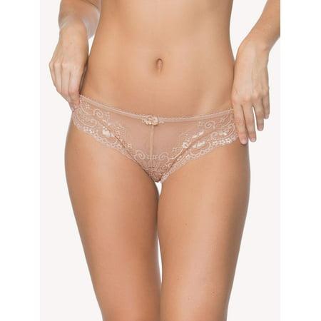 Women's Lace Cheeky Panty (Hanro Lace Panties)