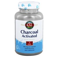 Nutraceutical Charcoal  Specialty High Potency Dietary Supplement, 100 ea