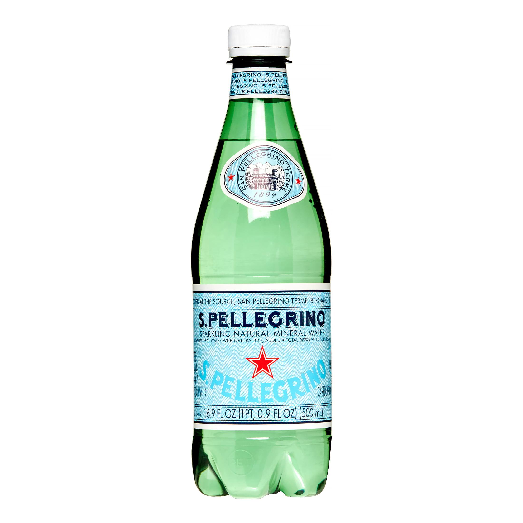 S Pellegrino Sparkling Natural Mineral Water Bottles Ml