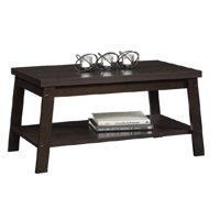 Product Image Mainstays Logan Coffee Table Espresso Finishes