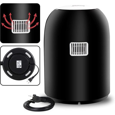 770W Compact Mini Oil-less Air Fryer Touch Screen Control 2.1qt Healthy Kitchen Appliance w/ Recipes