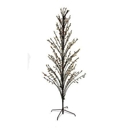 LB International Lighted Halloween Cascade Twig Tree Outdoor Yard Art Decoration for $<!---->