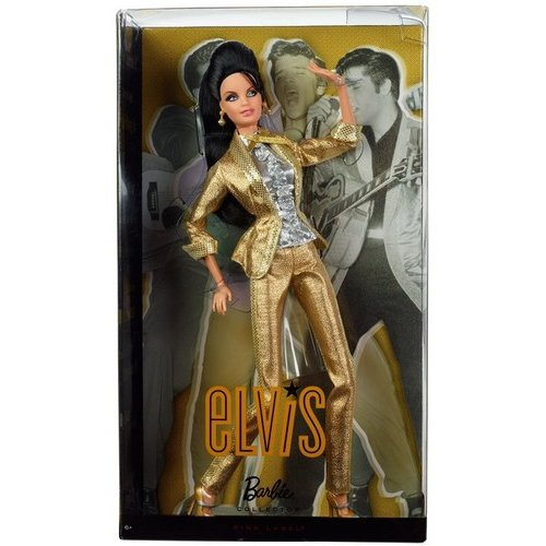 Barbie Collector Elvis Barbie Doll