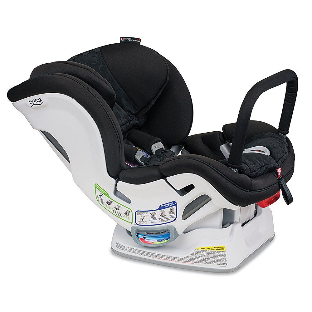 Britax Boulevard ClickTight Anti-Rebound Bar Convertible Car Seat, Circa by Britax