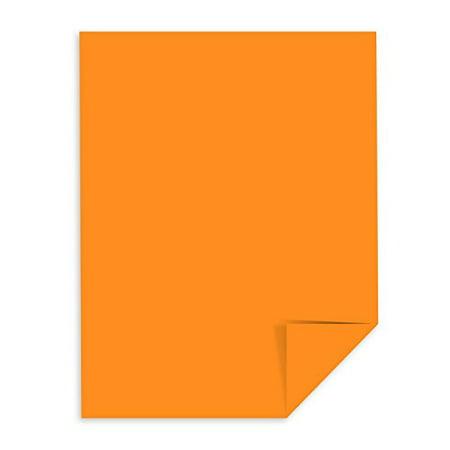 Cosmic Orange - Neenah Astrobrights Premium Color Card Stock, 65 Lb 50 Sheets (8.5 x 14)