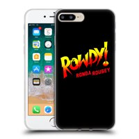 OFFICIAL WWE RONDA ROUSEY SOFT GEL CASE FOR APPLE IPHONE PHONES