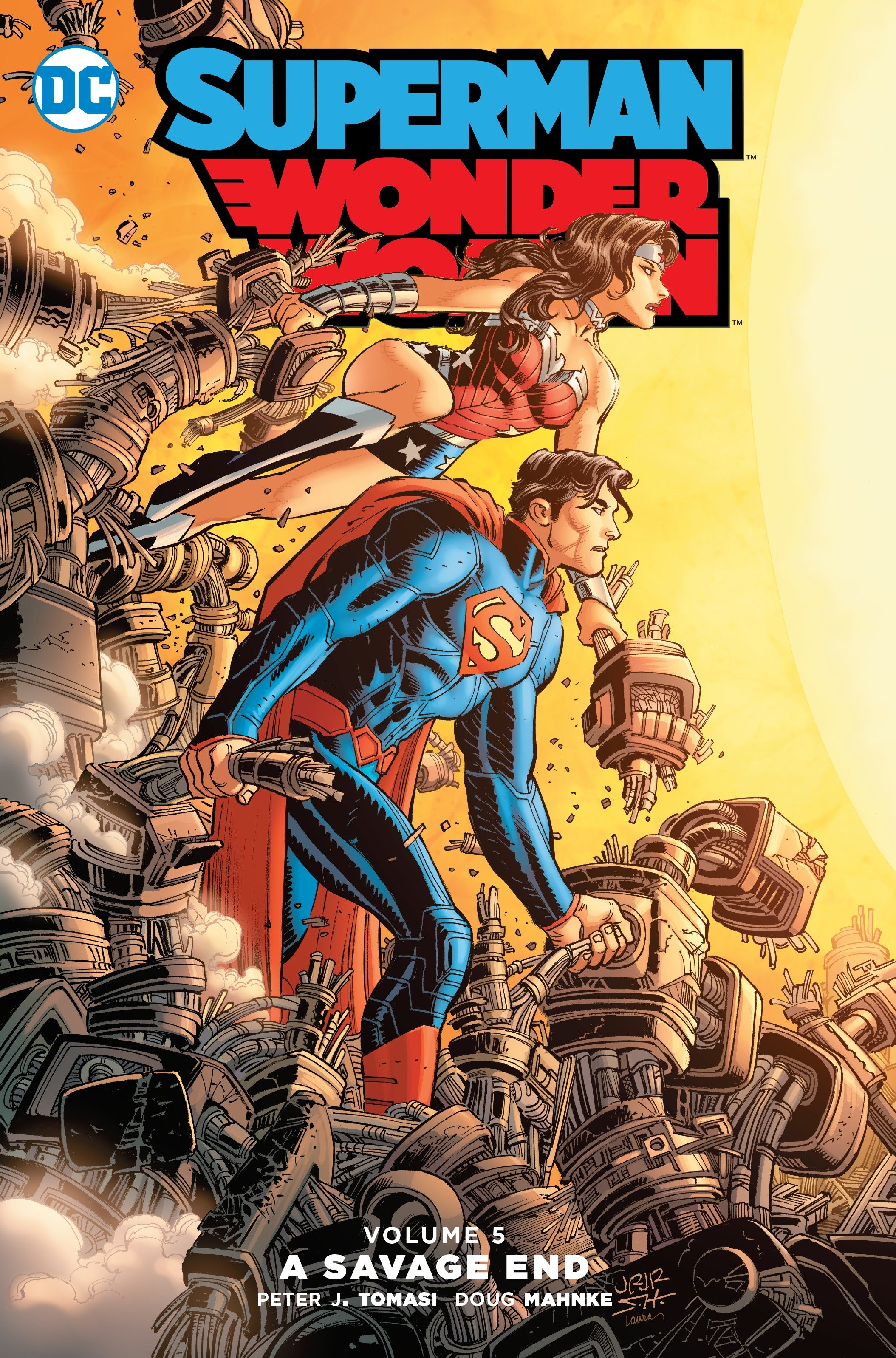 Supermanwonder Woman Vol 5 A Savage End - Walmartcom-5264