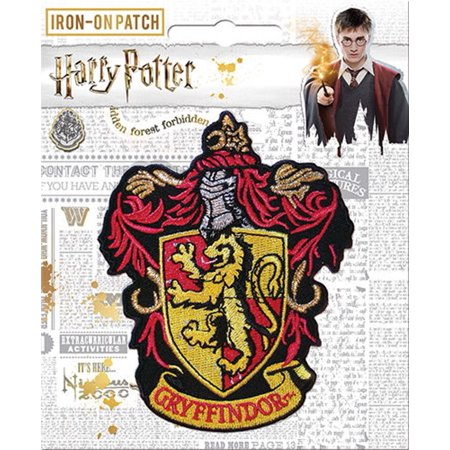 Harry Potter Gryffindor Iron On Patch](Griffindor Patch)