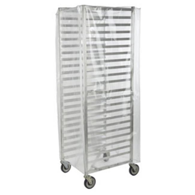 FocusFoodService FBRCNF 24 inch x 28. 5 inch x 62. 5 inch Full-Size Nylon Bakery Rack Cover