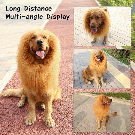 Estink  Lion Mane for Dog  , Medium or Large Dog Lion Mane Costume