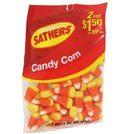 Product Of Sathers, 2/$1.50 Candy Corn, Count 12 (3.25 oz) - Sugar Candy / Grab Varieties & Flavors - Kandy Korn